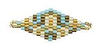 Oasis Hand Woven Diamond 40x16mm