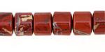Red Bend Jasper Large Heishi 14mm