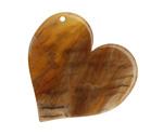 Zola Elements Caramel Bullhorn Acetate Heart Focal 35mm
