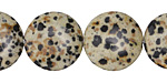 Dalmation Jasper Puff Coin 18mm