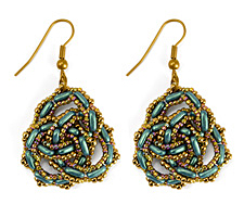 Celtic Knot Earrings Pattern for CzechMates
