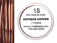 Parawire Antique Copper 18 gauge, 7 yards
