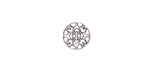 Stainless Steel Star Dogwood Blossom Filigree Coin 10mm
