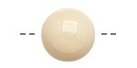 Tagua Nut Cream Round 20mm