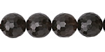 Smoky Quartz Faceted Round 12mm