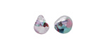 Unicorne Beads Cotton Candy Teardrop 9-10x9-10mm