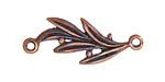 Greek Bronze (plated) Olive Branch Link 37x15mm