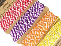 Cockatoo Bamboo Cord 20 lb, 29.8 ft x 4 colors