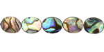 Abalone Flat Oval 10x8mm