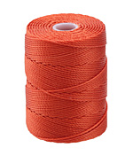 C-Lon Orange (.5mm) Bead Cord
