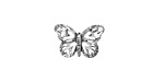 Zola Elements Antique Silver (plated) Lace Butterfly 15.5x10mm