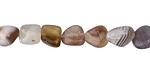 Botswana Agate Tumbled Nugget 7-11x6-8mm