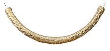 Zola Elements Matte Gold (plated) Large Patterned Focal Slide 105x48mm