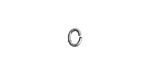Nunn Design Antique Silver (plated) Textured Oval Jump Ring 6x5mm, 16 gauge