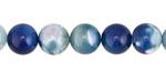 Marine Blue Agate Round 8mm