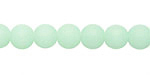 Opaque Seafoam Green Recycled Glass Round 8mm