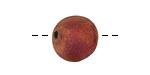 XAZ Raku Stan's Rust Jumbo Round 13-14mm