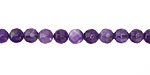 Dogtooth Amethyst Faceted Round 5mm
