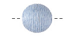 Light Blue Thread Wrapped Bead 18mm