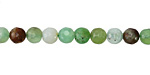 Chrysoprase Faceted Round 5-6mm