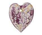 Gaea Heart Twilight Romantic Heart 29x30mm