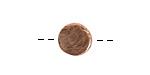 Nunn Design Antique Copper (plated) Mini Organic Flat Circle 10.5mm