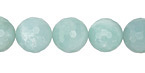 Amazonite Faceted Round 12mm