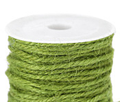 Lime Green Unpolished Hemp Twine 3mm