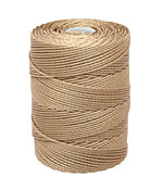 C-Lon Latte (.5mm) Bead Cord