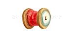 Jangles Ceramic Large Thread 15-17mm
