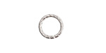Nunn Design Sterling Silver (plated) Textured Jump Ring 12mm