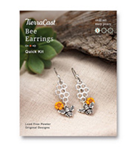 TierraCast Bee Earrings Kit