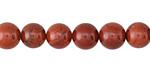 Red Jasper Round 8mm