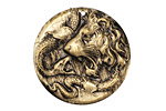 Vintaj Vogue Lion Snake Figural 30mm