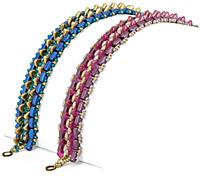 Triangle Trellis Bracelet Pattern for CzechMates