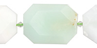 Chrysoprase Faceted Flat Slab 32-37x26-29mm