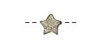 Golden Pyrite Star 10mm