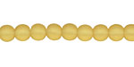 Desert Gold Recycled Glass Round 6mm