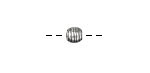 Zola Elements Antique Silver (plated) Banded Round 6mm