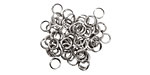 Artistic Wire Non-Tarnish Silver Chain Maille Jump Ring 3.97mm, 18 gauge