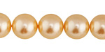 Mimosa Shell Pearl Round 12mm
