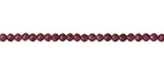Garnet Faceted Round 2.5-3mm