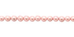Blush Shell Pearl Round 4mm