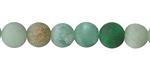 Green Aventurine (matte) Round 8mm