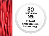 Parawire Red 20 Gauge, 10 Yards
