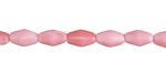 Czech Glass Strawberries & Cream Rice 9x5mm