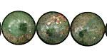 Green Chalcopyrite Puff Coin 16mm