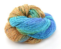 Island Sparkle Lace Weight Silk Yarn