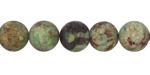 African Green Opal (matte) Round 10mm