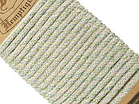 Party Green Hemp Braided Rope 4mm, 3m